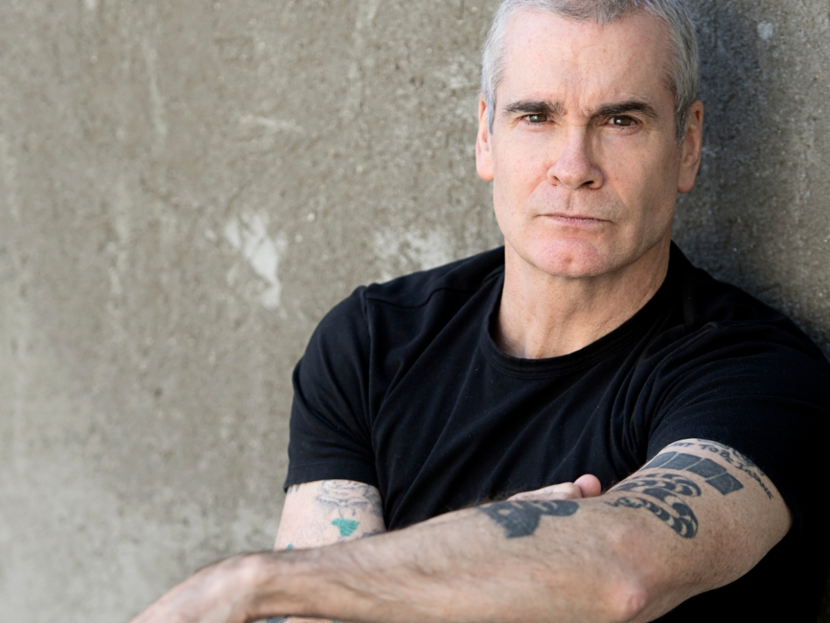 Quick chat with Henry Rollins